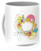 Bubble Speech Coffee Mug by Setsiri Silapasuwanchai