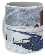 Buffalo River Valley In Snow Coffee Mug by Garry McMichael