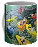Canoes Coffee Mug by Andrew Macara