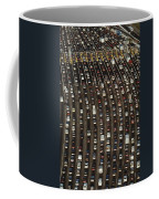 Cars Queue Up At A Tollbooth On The Bay Coffee Mug by James A. Sugar
