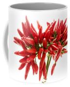 Chili Peppers Coffee Mug by Fabrizio Troiani