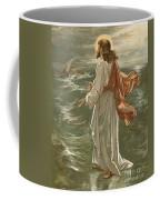 Christ Walking On The Waters Coffee Mug by John Lawson