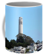 Coit Tower Coffee Mug by Henrik Lehnerer