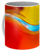 Colorful Wave Coffee Mug by Carlos Caetano