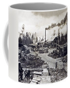 Concord New Hampshire - Logging Camp - C 1925 Coffee Mug by International  Images