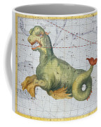 Constellation Of Cetus The Whale Coffee Mug by James Thornhill