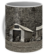 Country Life Sepia Coffee Mug by Steve Harrington