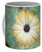 Cream Coloured Daisy Coffee Mug by Chris Thaxter