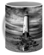 Crooked Lighthouse Coffee Mug by Adrian Evans
