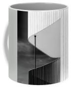 Curved Balcony Coffee Mug by Dave Bowman