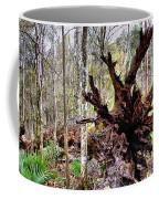 Cypress Roots Coffee Mug by Kristin Elmquist