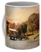 Dock For Two Coffee Mug by Jai Johnson