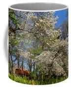 Dogwood Grove Coffee Mug by Debra and Dave Vanderlaan