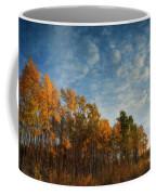 Dressed In Autumn Colors Coffee Mug by Priska Wettstein