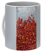 Dried Chili Peppers Coffee Mug by Carlos Caetano