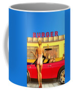 Drive-in Coffee Mug by John Edwards