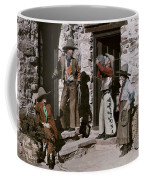Dude Ranch Guests Pretend To Be Cowboys Coffee Mug by Clifton R. Adams