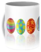 Easter Eggs Coffee Mug by Carlos Caetano