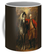 Edward Viscout Ligonier Coffee Mug by Thomas Gainsborough