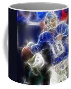 Eli Manning Ny Giants Coffee Mug by Paul Ward