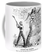 Emancipation Cartoon, 1862 Coffee Mug by Granger