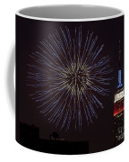 Empire State Fireworks Coffee Mug by Susan Candelario