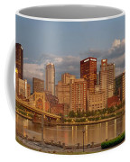 Evening Panorama Coffee Mug by Jennifer Grover