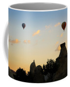 Fairy Chimneys And Balloons Coffee Mug by RicardMN Photography