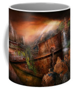 Fantasy - Ship Wrecked Coffee Mug by Mike Savad