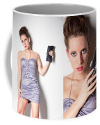 Fashion Collage Coffee Mug by Ralf Kaiser