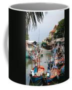Fishing Boats Coffee Mug by Adrian Evans