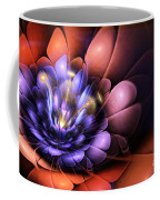 Floral Flame Coffee Mug by John Edwards