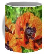 Flower - Poppy - Orange Poppies  Coffee Mug by Mike Savad