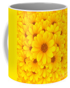 Flower Background Coffee Mug by Carlos Caetano