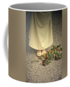 Flowers On The Street Coffee Mug by Joana Kruse