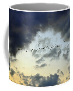 Flying South For The Winter Coffee Mug by Paul Ward