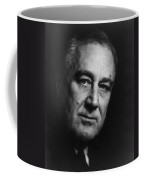 Franklin Delano Roosevelt  - President Of The United States Of America Coffee Mug by International  Images