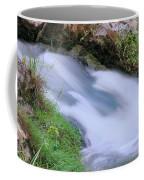 Freely Flowing Coffee Mug by Kristin Elmquist