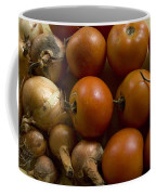 Fresh Tomatos And Onions From A Garden Coffee Mug by Joel Sartore