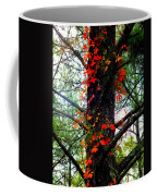 Garland Of Autumn Coffee Mug by Karen Wiles
