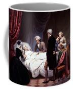 George Washington On His Death Bed Coffee Mug by Photo Researchers