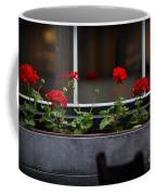 Geranium Flower Box Coffee Mug by Doug Sturgess
