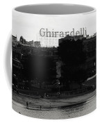 Ghirardelli Square In Black And White Coffee Mug by Linda Woods