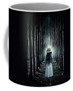 Girl In The Forest Coffee Mug by Joana Kruse