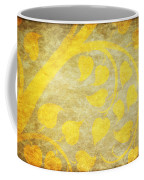 Golden Tree Pattern On Paper Coffee Mug by Setsiri Silapasuwanchai