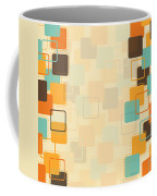 Graphic Square Pattern Coffee Mug by Setsiri Silapasuwanchai
