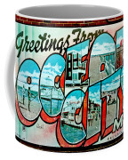 Greetings From Oc Coffee Mug by Skip Willits