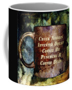 Gritty Chuck Norris 2 Coffee Mug by Angelina Vick