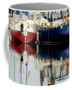 Harbor Reflections  Coffee Mug by Bob Christopher