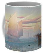 Hauling In The Nets Coffee Mug by JB Pyne